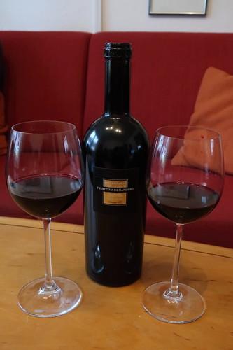 Sessantanni Primitivo di Manduria (2017er Rotwein vom apulischen Weingut Cantine San Marzano)