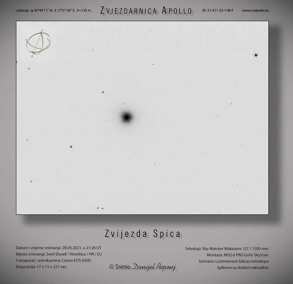 Zvijezda Spica, 28.05.2021.