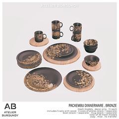 Atelier Burgundy . Pacaembu Bronze