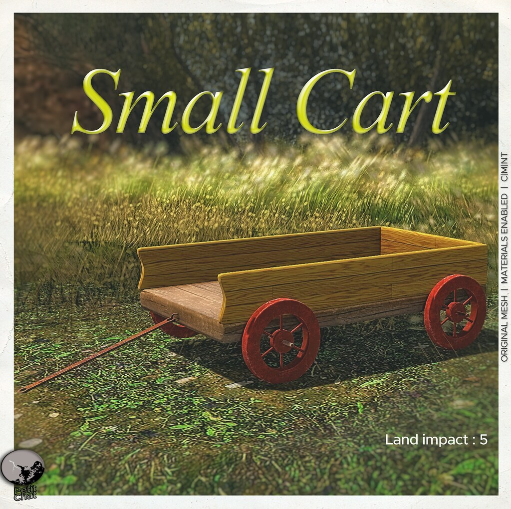 Small Cart : New release and it's our groupgift for June