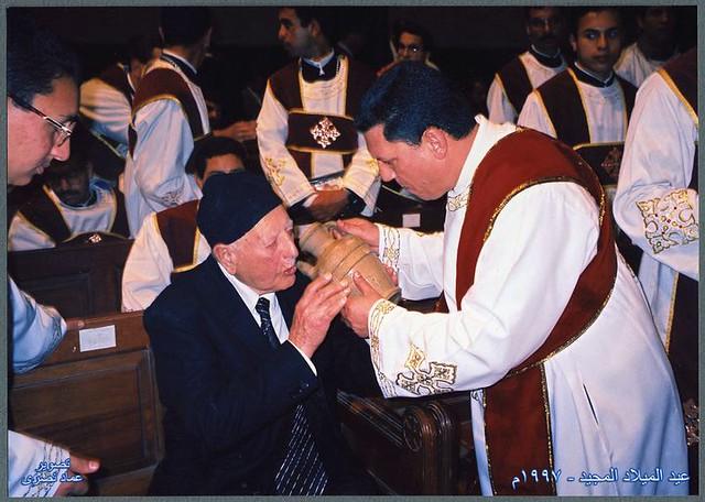 الدكتور راغب مفتاح والمعلم إبراهيم عياد