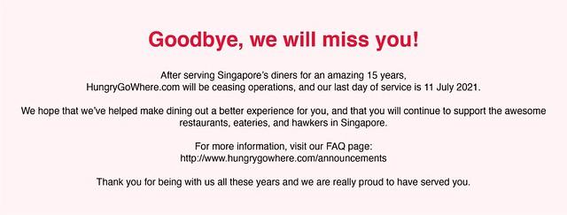 hungrygowhere closing down
