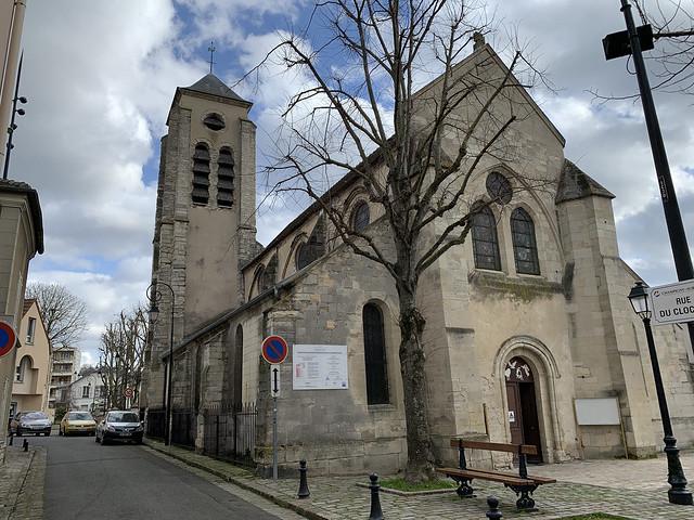 2021.02.24.016 CHAMPIGNY-SUR-MARNE - L'église Saint-Saturnin