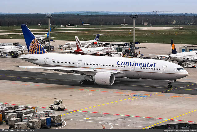 FRA.2008 # ContinentalAirLines #CO #Boeing #B777 #N74007 | #AWP-CHR