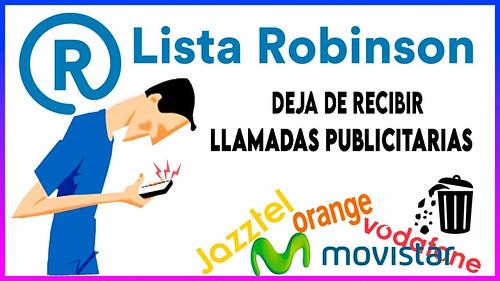 Lista Robinson de Exclusión Publicitaria