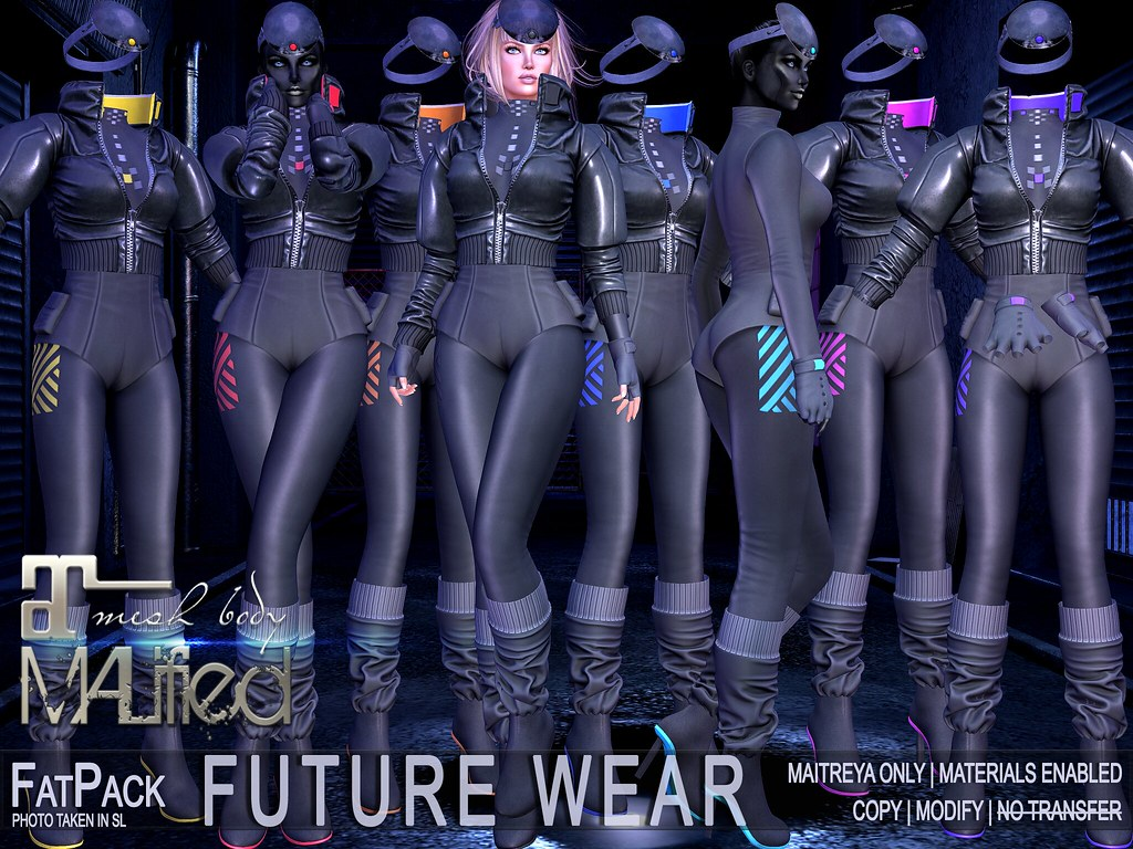 MALified – Future Wear Outfits – FatPack
