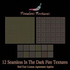TT 12 Seamless In The Dark Fire Timeless Textures