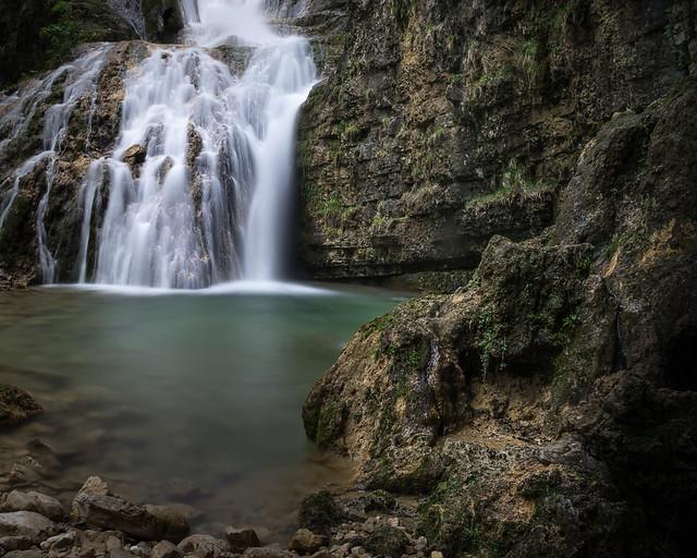 La cascade de la fouge