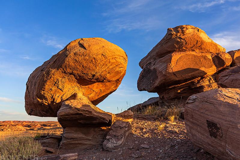 Little Balanced Rock