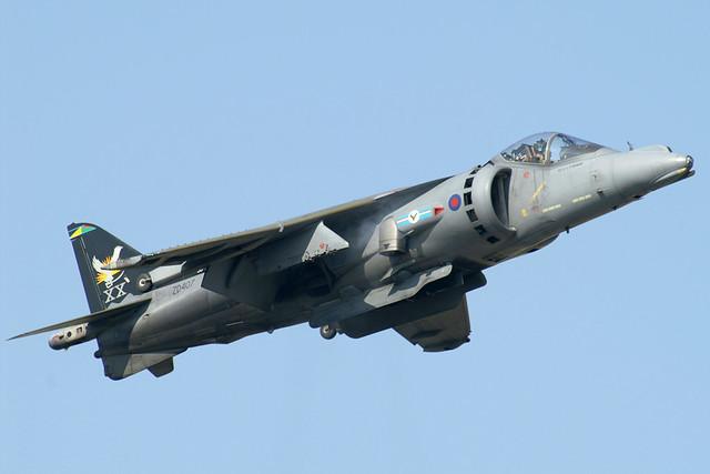 ZD407/XX Sqn Harrier GR9