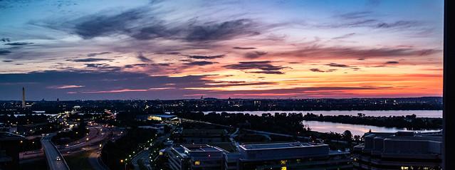 Sunrise Over DC 8 June