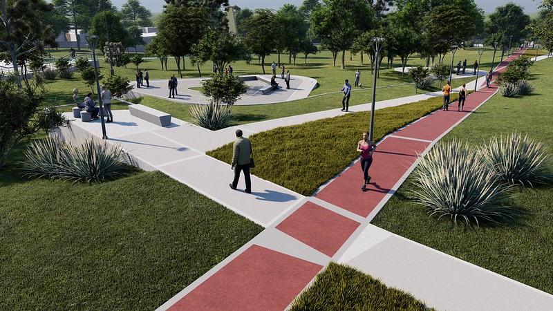 Municipio y Provincia invierten en la puesta en valor del Parque de las Naciones