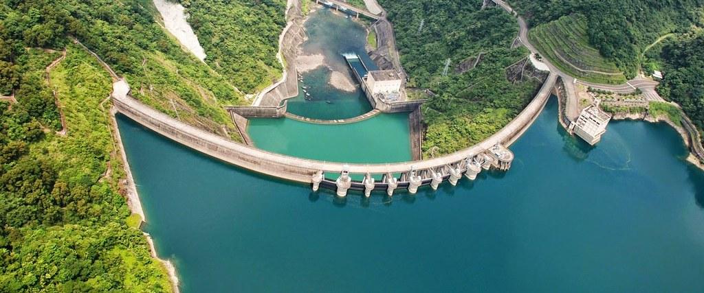 翡翠水庫。圖片來源:台北翡翠水庫管理局