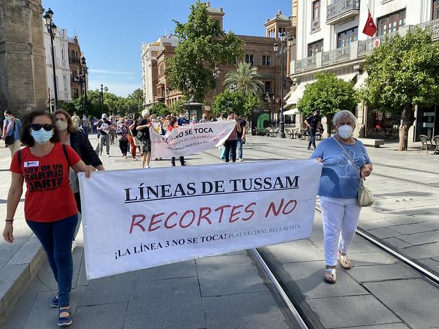 TUSSAM RECORTES