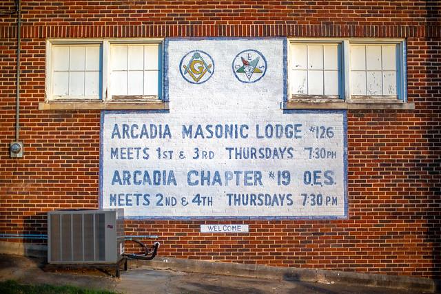 Arcadia Masonic Lodge