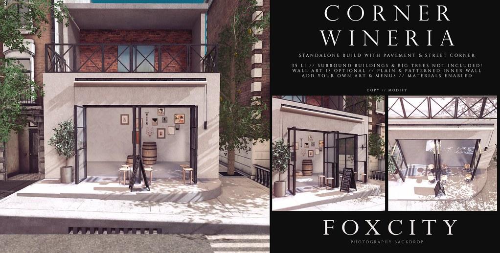 FOXCITY. Photo Booth – Corner Wineria