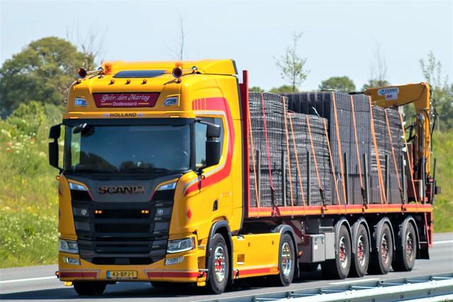 Scania R-series highline, from van den Berg, Holland.