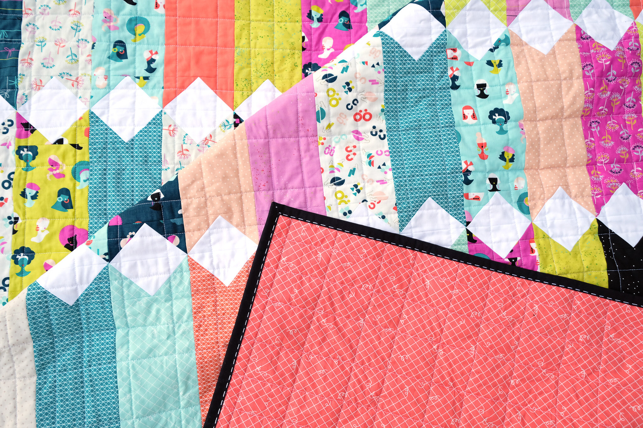 The Virginia Quilt Pattern - Kitchen Table Quilting