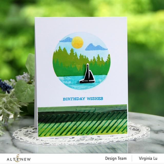 06132021-Let's Go Stamp & Die & Coloring Stencil Bundle-Buffalo Plaid 3D Embossing Folder-Enjoy The Ride Paper Pad