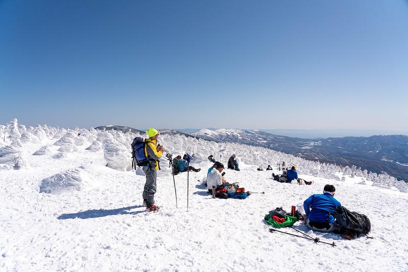 西吾妻山の山頂