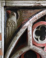 Tottington screen: eagle (15th Century)