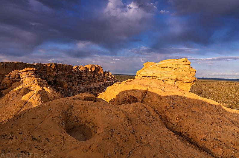 Sandstone Bluffs Morning
