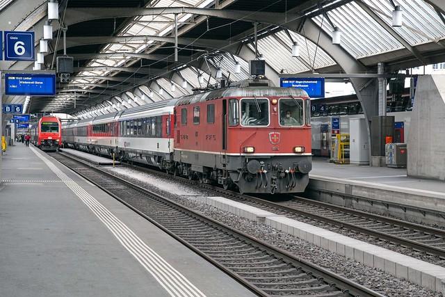 SBB Re 4/4 420 154 Zürich Hbf