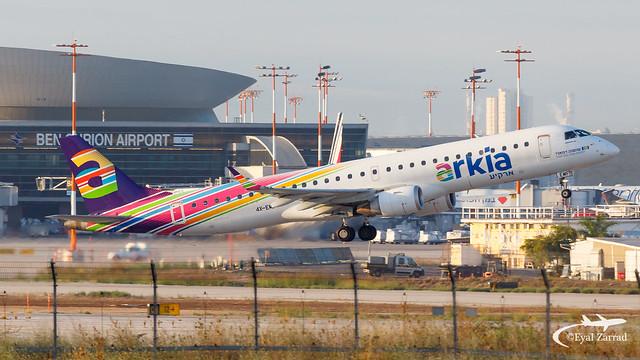 TLV - Arkia Embraer 195 4X-EMF