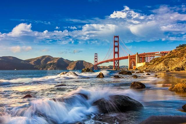Golden Gate Bridge in September