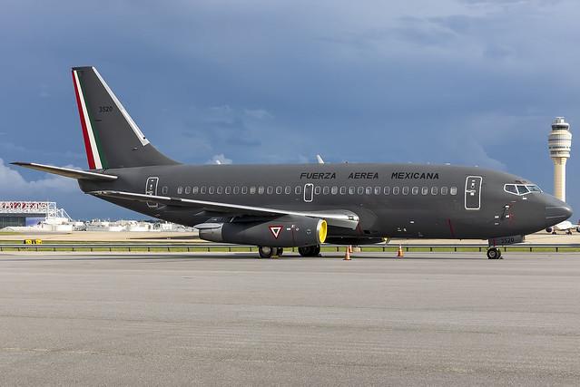 FAM3520 - Boeing 737-2B7Adv - Fuerza Aerea Mexicana (Mexican Air Force) - KATL - 07 June 2021