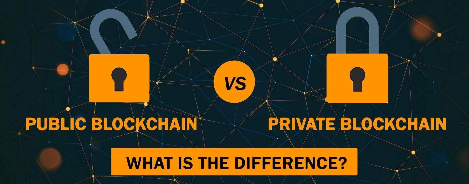 Private and Public Blockchain