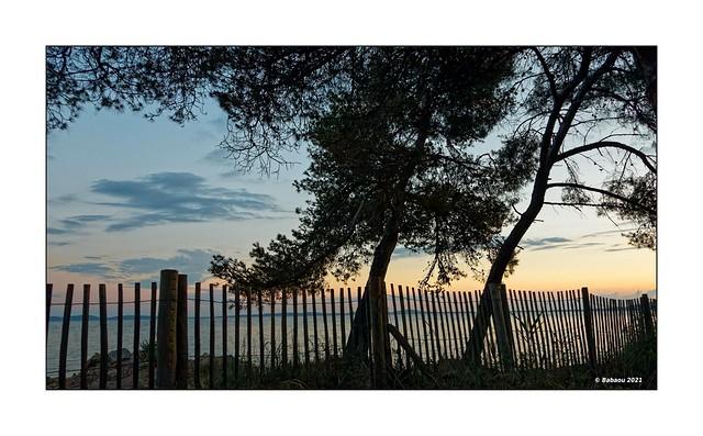 Tagesausklang am Mittelmeer...