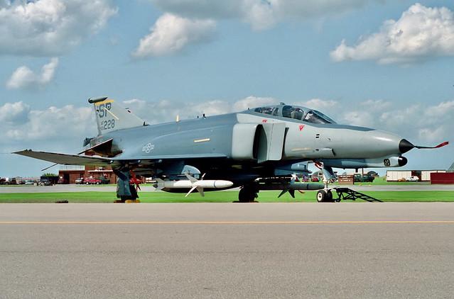 69-7228/SP F-4G 81FS/52 USAFE RAF Upper Heyford 18.7.92
