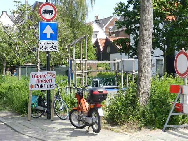 Sunny day in Delft june 8, 2021