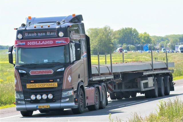 Scania R450 highline nextgen, from Ruud van Roij, Holland.