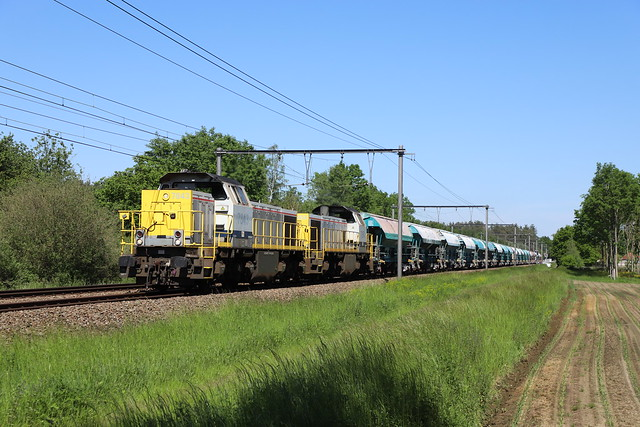 LINEAS 7843 + 7854 - Langdorp - 1/06/2021.