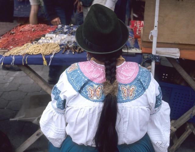 Cayambe Ecuador Woman Blouse South America