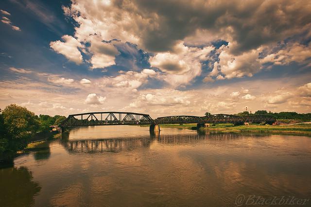 Die Brücke über die Oder