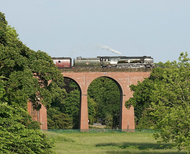 The Dalesman on Whalley Arches