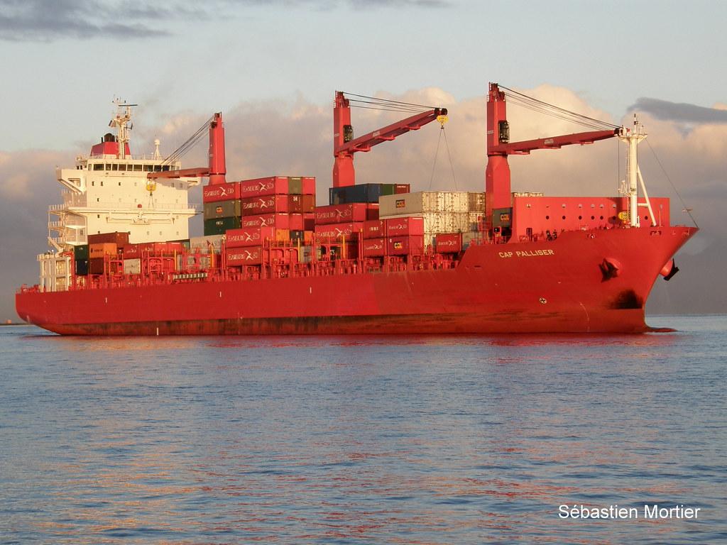 CAP PALLISER CONTAINER SHIP 9344679 188M 2007 LIBERIA 28 08 2009 PAPEETE