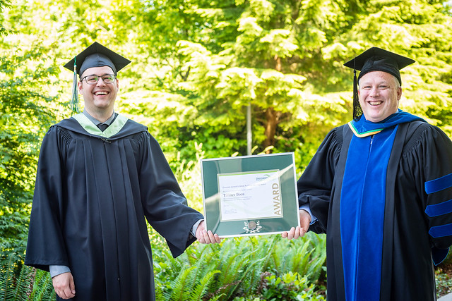 Tanner Boos - Governor General's Silver Medal ~ Convocation 2021