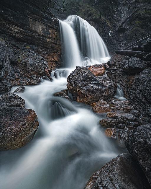 Kuhfluchtwasserfall, Farchant