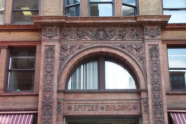 Toledo Ohio - Spitzer Building aka The Nicholas Building - 608 Madison Ave - Historic