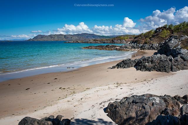 Ardnamurchan - Singing Sands Bay