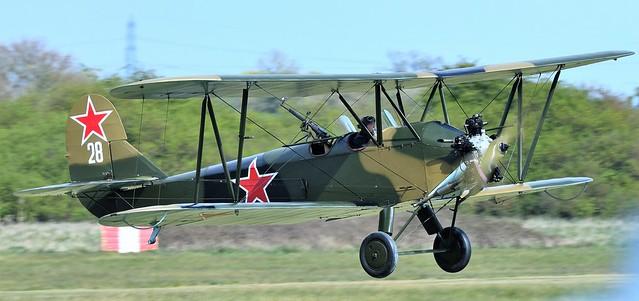 1944 Polikarpov PO2 G-BSSY Soviet Union