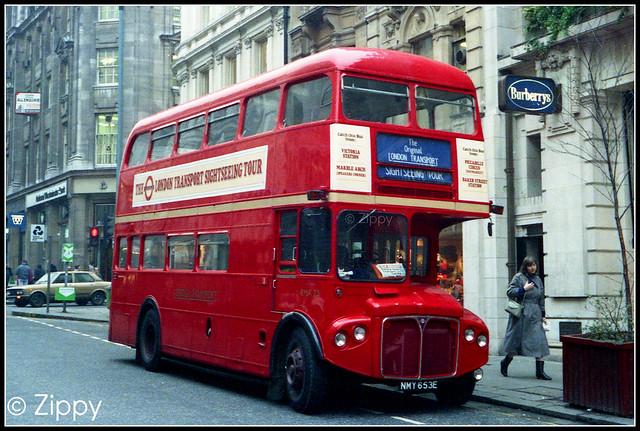London Buses - RMA25 NMY653E