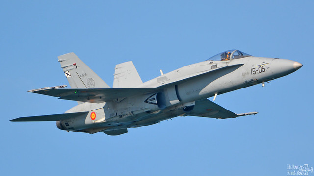 Ejército del Aire McDonnell Douglas FA-18 Hornet C.15-18