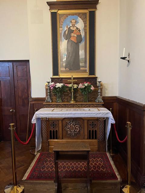 St Bede altar