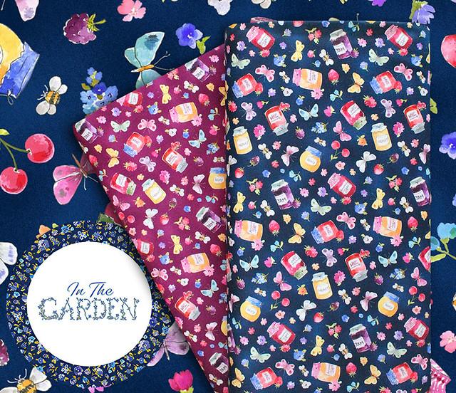 Michael Miller Fabrics In The Garden