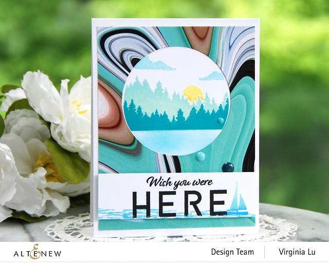 06132021-Let's Go Stamp & Die & Coloring Stencil Bundle-Poured Acrylic Paper Pad-001